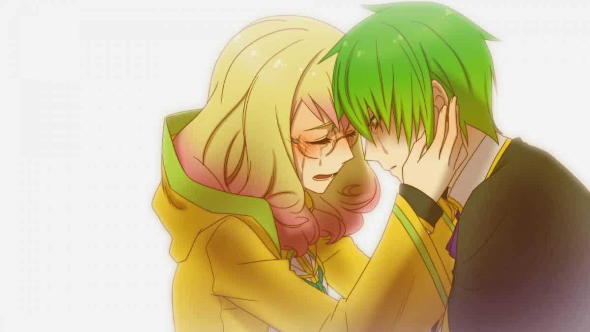 imagenes de amor anime blazblue trinity glassfille y kazuma kval