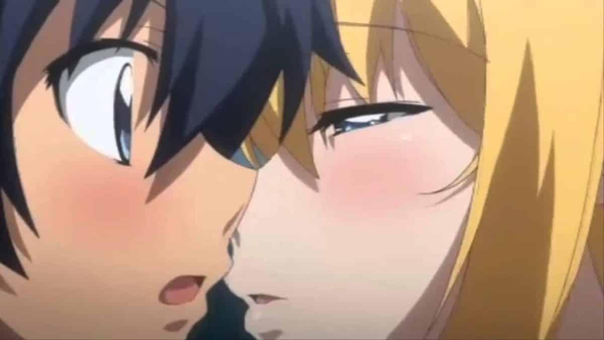 imagenes de amor anime mirai nikki yuno besando a amano
