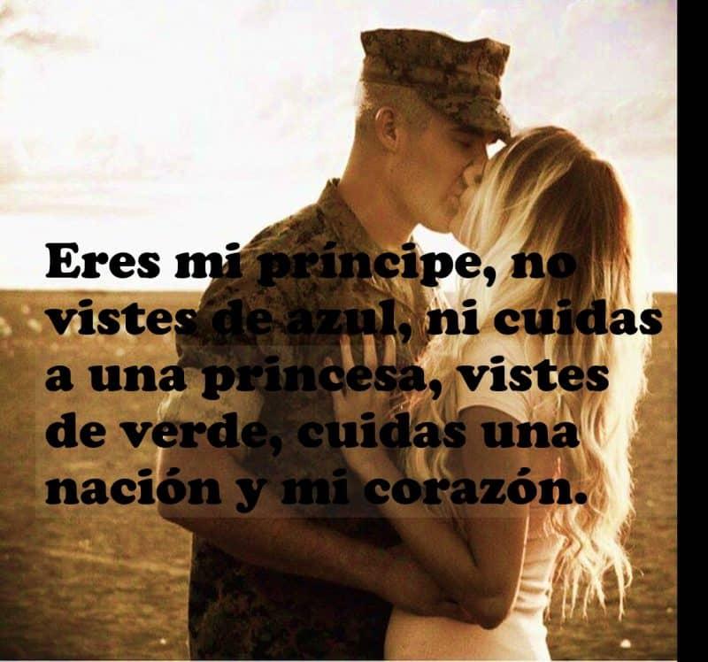imágenes de amor para mi novio militar eres mi principe no vistes de azul ni cuidas a una princesa