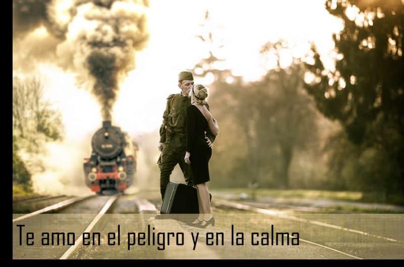 imágenes de amor para mi novio militar te amo en el peligro y en la calma